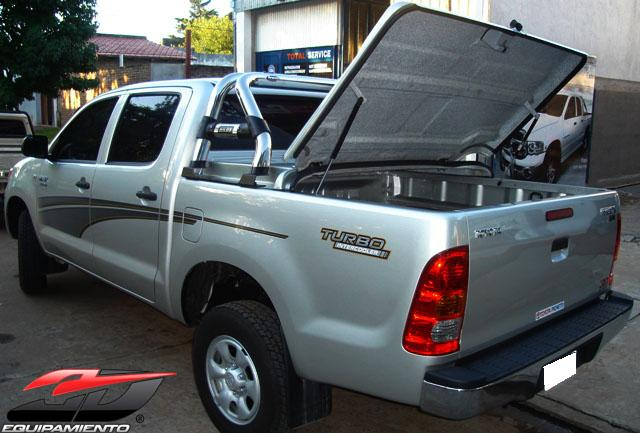 Tapa R 205 Gida Toyota Hilux 2005 2015 3d Equipamiento