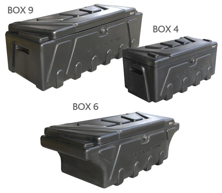 Ba l pl stico bracco box 6 3d equipamiento - Baul de plastico ...