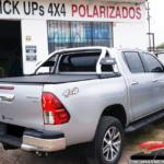 JAULA EVO EN ACERO INOXIDABLE BRACCO TOYOTA HILUX 2016 3d equipamiento