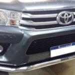 defensa talampaya BRACCO acero inoxidable toyota hilux 2016